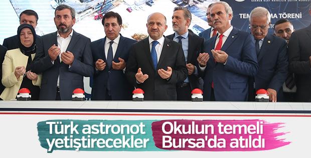 Türkiye'nin ilk astronot okulu Bursa'da