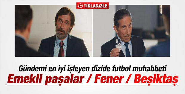 Reaksiyon dizisinde Fenerbahçe - Beşiktaş diyaloğu