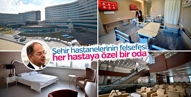 Sağlık Bakanı Recep Akdağ şehir hastanelerini anlattı