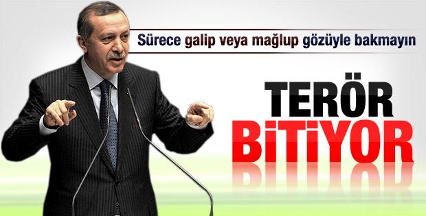 Başbakan Erdoğan barış sürecini anlattı