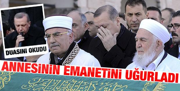 Başbakan Erdoğan'dan dayısına son veda