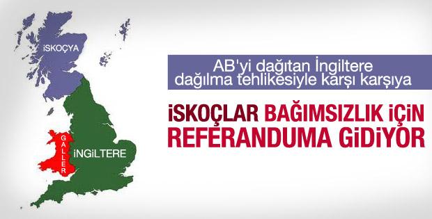 İskoçya'da bağımsızlık için referandum yapılacak