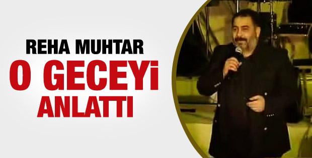 Reha Muhtar: Ahmet Kaya'ya tek kelime hakaret etmedim