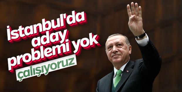 Başkan Erdoğan'a İstanbul adaylığı soruldu