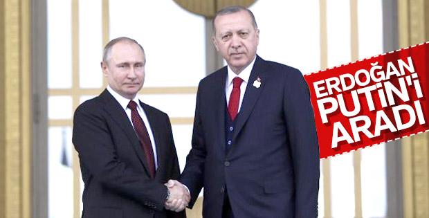 Erdoğan ile Putin arasında ekonomi görüşmesi