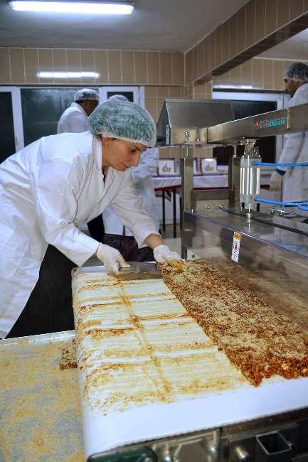 Ordu'da doğal Zıp Zıp çikolatası üretildi