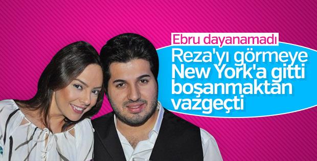 Ebru Gündeş ile Reza Zarrab New York'ta görüştü