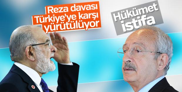 CHP ve Saadet Partisi'nin Reza Zarrab tavrı