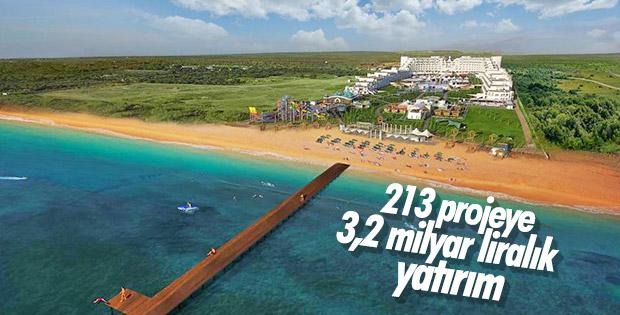 Turizmde 213 projeye yatırım teşviği