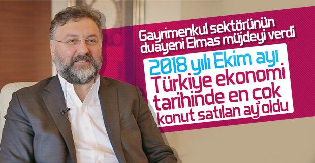 Altan Elmas: Ekimde tüm zamanların konut satış rekoru kırıldı