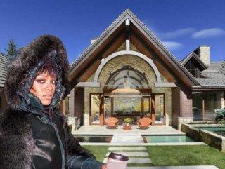 Rihanna yeni yaşına milyon dolarlık malikanede girdi