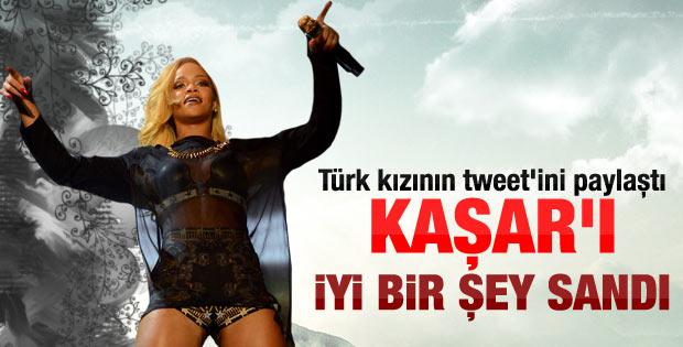Rihanna ile Türk kızı arasındaki diyalog