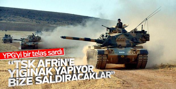 TSK, Afrin'e operasyona hazırlanıyor