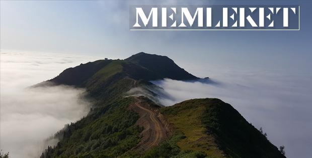 Bulutların Üzerindeki Marsis Dağı