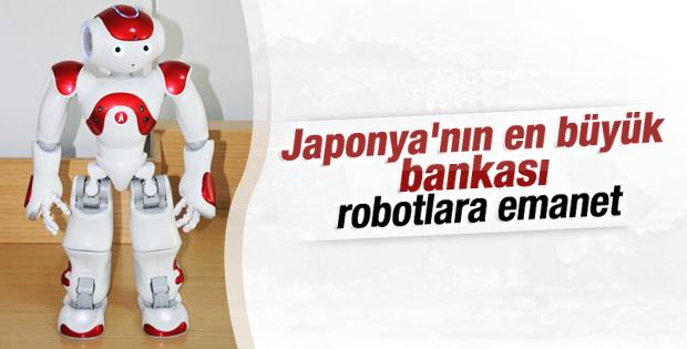 Japonya'da bankalar robotlara teslim edilecek