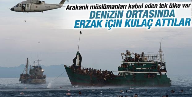 Endonezya 582 Rohingyalı göçmeni kabul etti