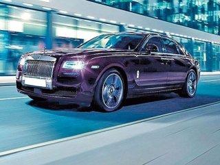 Rolls Royce'dan Ghost'a yeni seri