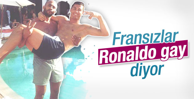 Fransızlar Ronaldo'yu gay yaptı