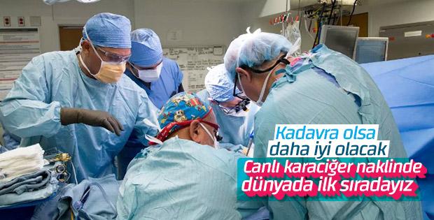 Karaciğer naklinde Türkiye'nin önemli başarısı