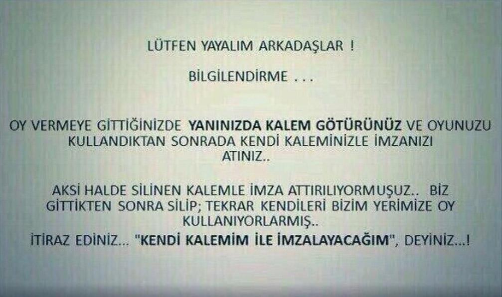 Kadıköy'de seçmeni yönlendirmek için bildiri dağıttılar