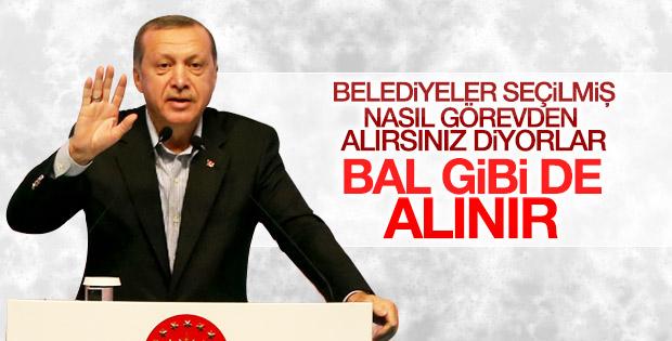 Erdoğan'dan kayyum eleştirilerine cevap