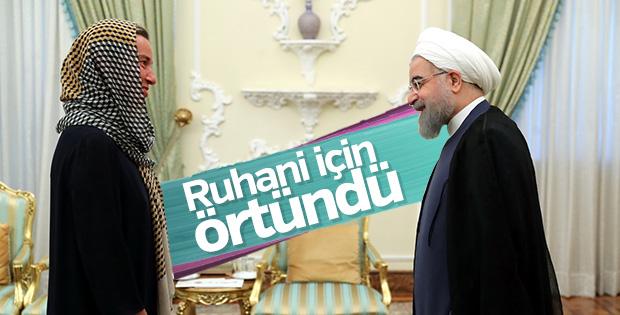 Federica Mogherini İran'da