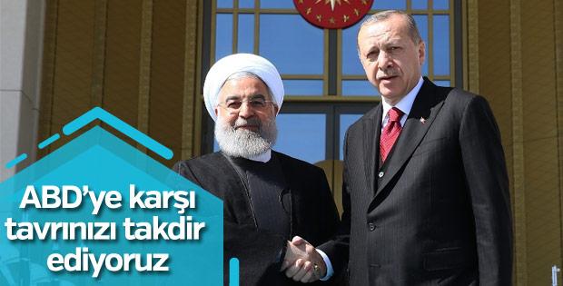 Ruhani: Türkiye'nin tavrı takdire şayan