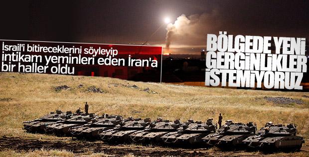 İran, İsrail'in saldırıları karşısında geri adım attı