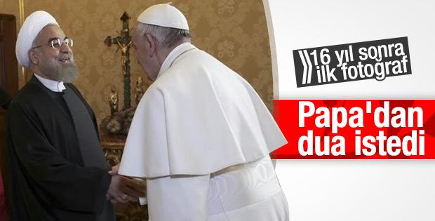 Vatikan'da Papa-Ruhani görüşmesi