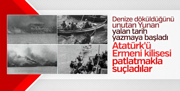 Yunan ve Rum medyasının hedefinde Atatürk var