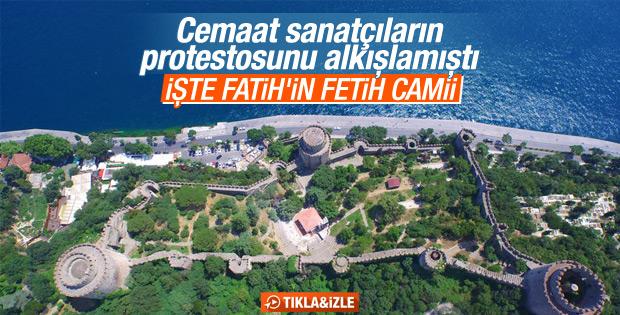 Rumeli Hisarı'ndaki mescidin inşaatı tamamlandı