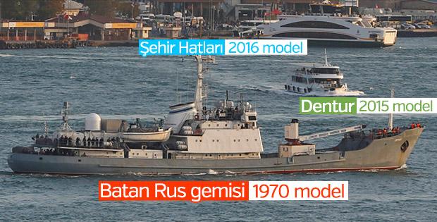 Karadeniz'de batan Rus gemisinin ayrıntıları