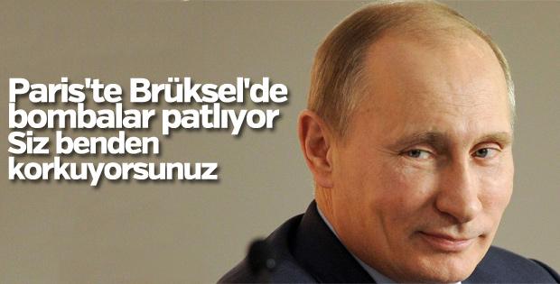 Putin'den Avrupa'ya çağrı: Rus tehdidini bırakın