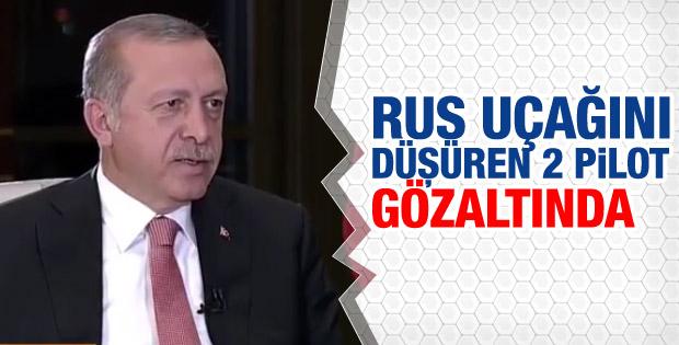 Erdoğan'dan Rus uçağı açıklaması