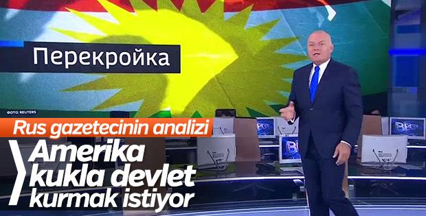 Rus televizyonunda ABD'nin Kürt oyunu deşifre edildi