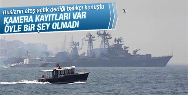 Rus gemisinin ateş açtığı teknenin kaptanı konuştu