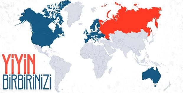 Tüm dünyada Rus casusları sınır dışı eden ülkeler