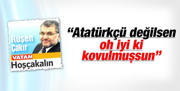 Ruşen Çakır Vatan gazetesinden ayrıldı