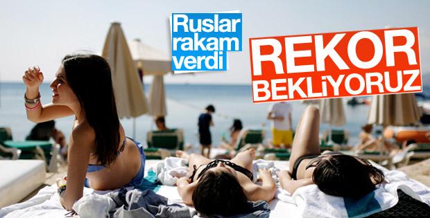 Ruslar açıkladı: Türkiye'ye turist akını bekleniyor