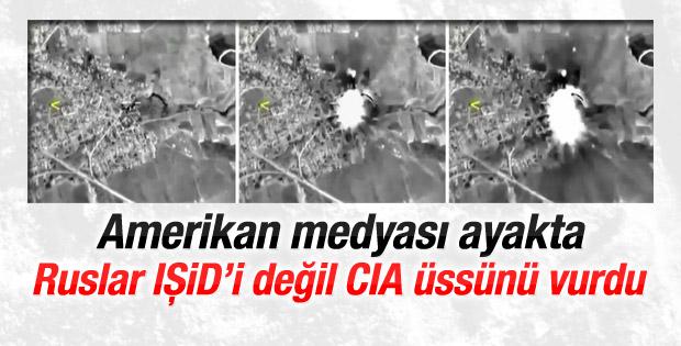 Amerikan medyası: Rusya IŞİD'i değil CIA üssünü vurdu