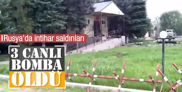 Rusya'da karakola intihar saldırısı