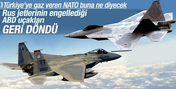 ABD ile Rus jetlerinin havada tehlikeli karşılaşması