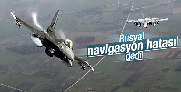 Rus uçağı Türk hava sahasına girdi