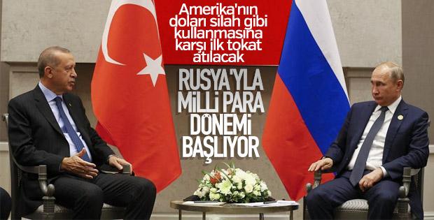 Erdoğan'ın milli para çağrısına Rusya'dan olumlu yanıt