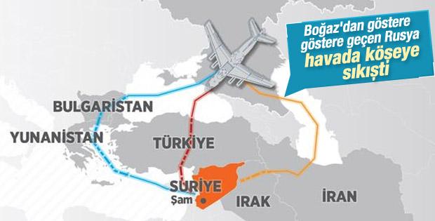 Rusya Suriye'ye askeri yardım için hava koridoru arıyor