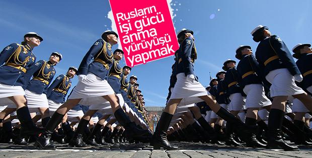 Rusya'da Zafer Bayramı törenleri
