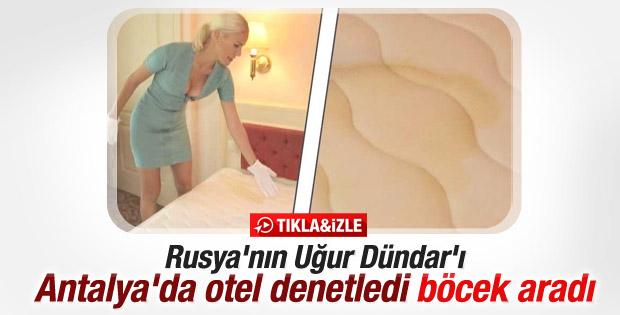 Rusya'nın Uğur Dündar'ı Elena Letuchaya Antalya'da