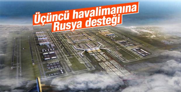 Üçüncü havalimanına Rus bankasından kredi