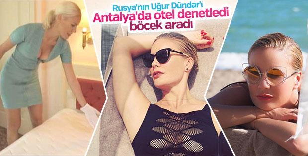 Elena Letuchaya bu yıl da Antalya'da