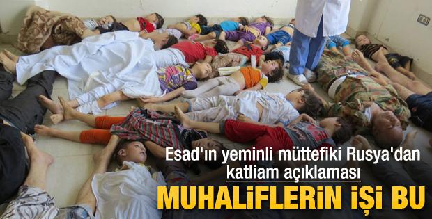 Rusya'dan Suriye yorumu: Muhaliflerin işi